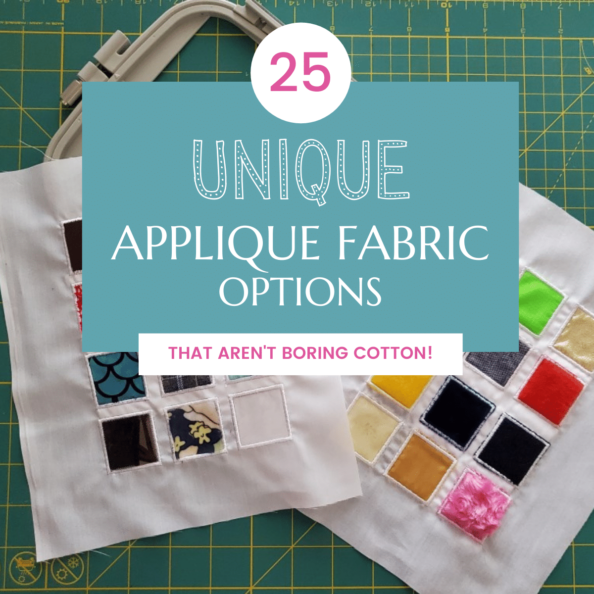 25+ Fun Applique Fabric Ideas to Experiment With