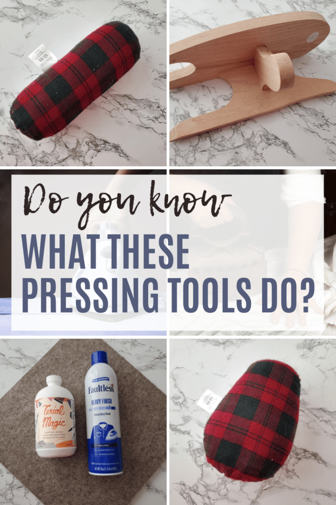examples of pressing tools in sewing and their uses