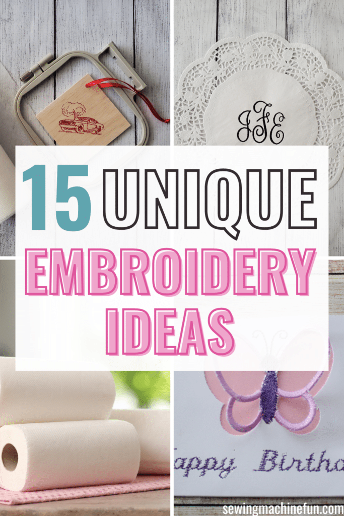 unique embroidery blanks