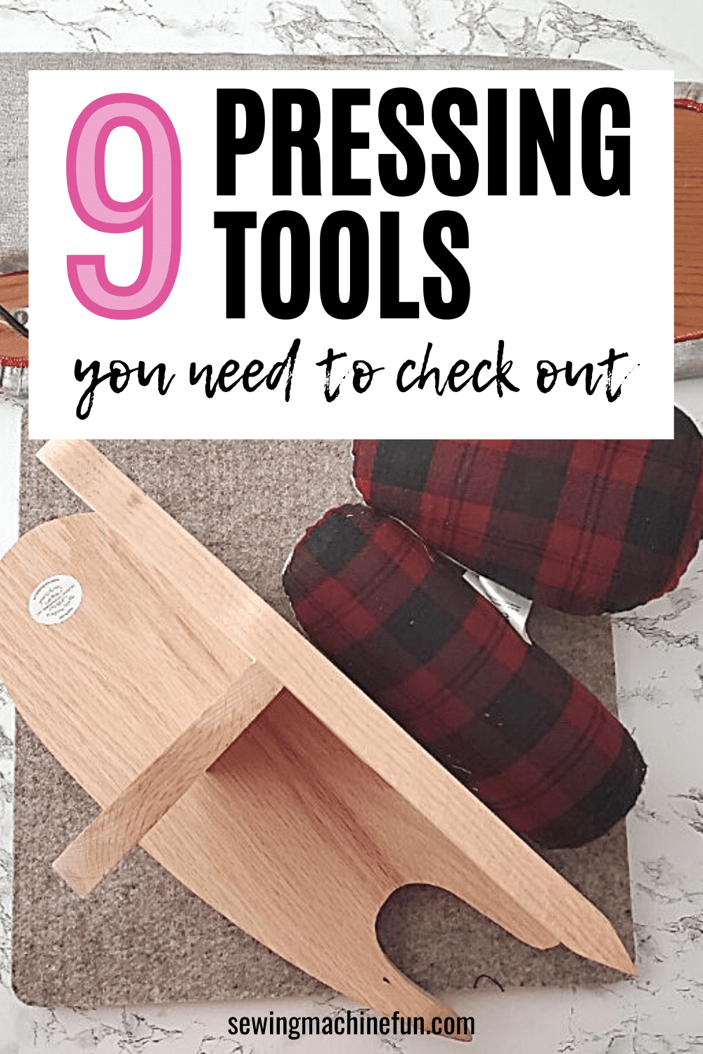 types of pressing tools for sewing