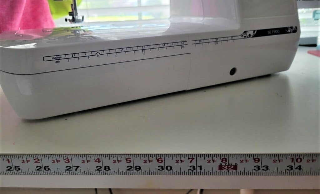 sticky ruler