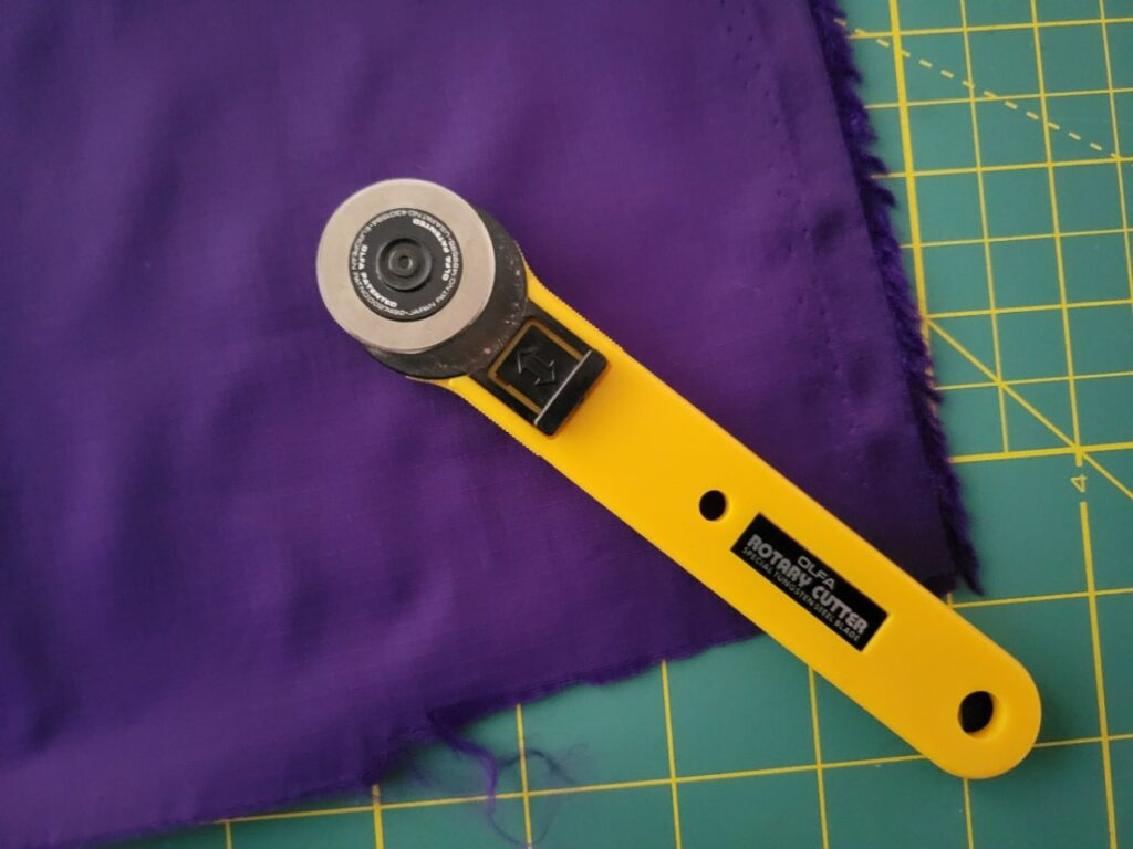 how to cut ripstop fabric