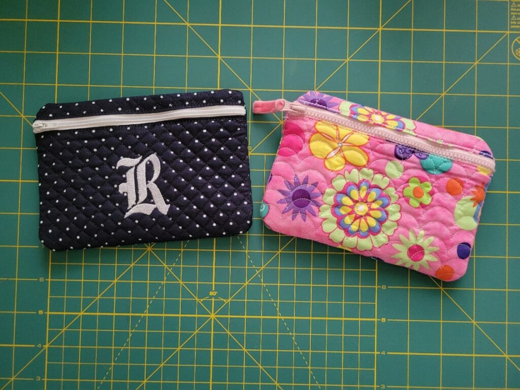 ith embroidered wallet