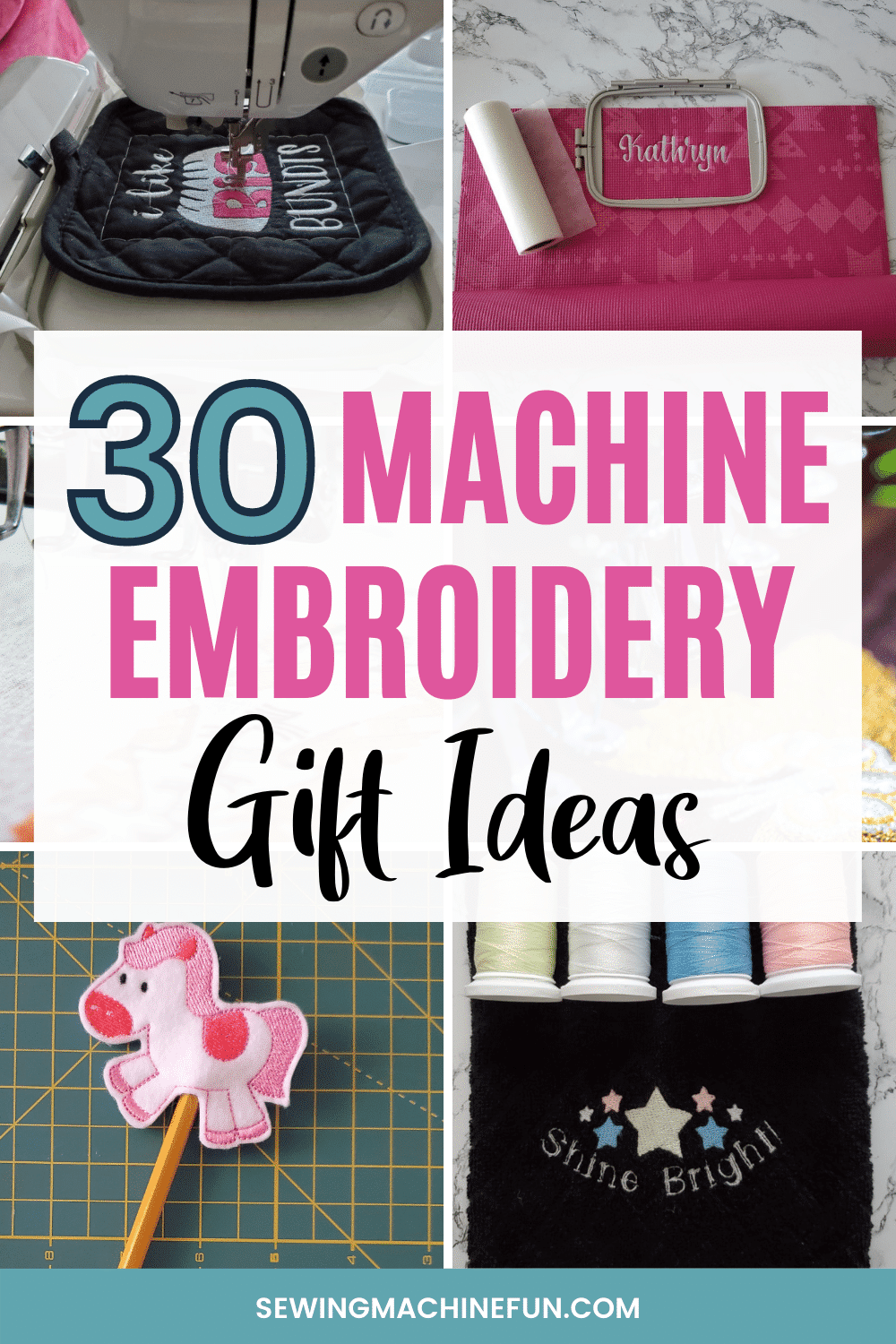 gifts to make with an embroidery machine
