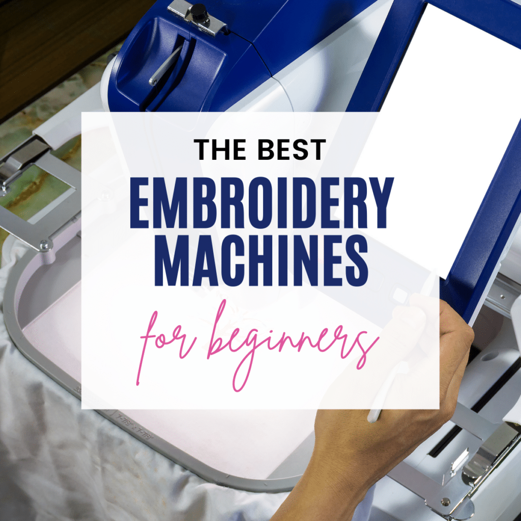 the best embroidery machine for beginners