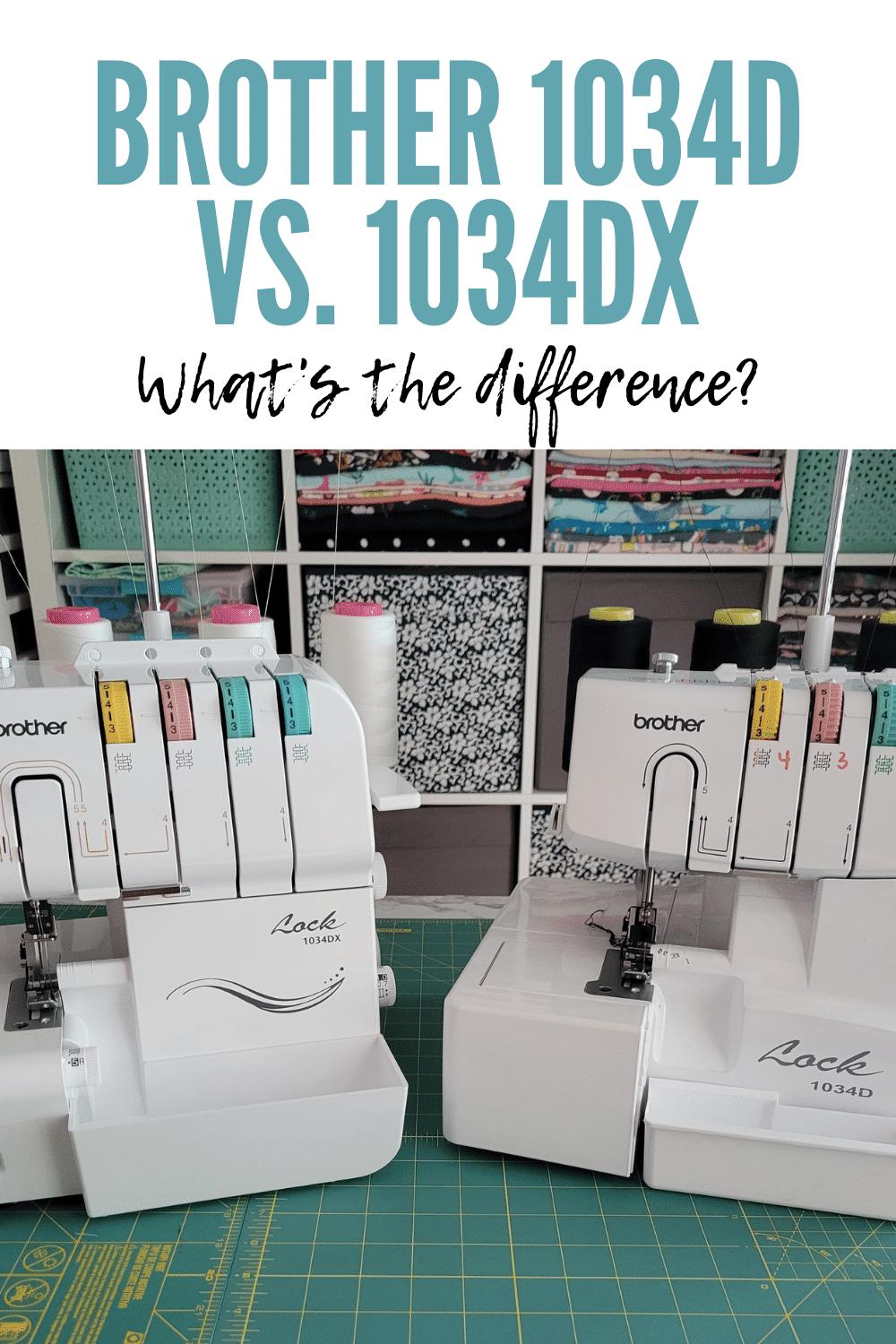 Brother 1034D vs. 1034DX: What's the Difference?